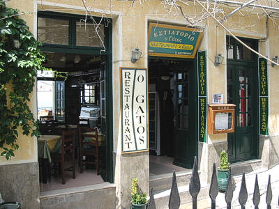 Welcome to GATOS Restaurant of Molivos, on the Greek island of Lesvos